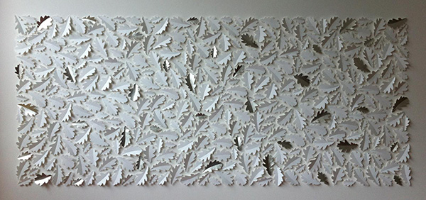 Large Silver Panel