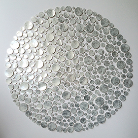 Box of dots - affordable paper art designed by Cissy Cook