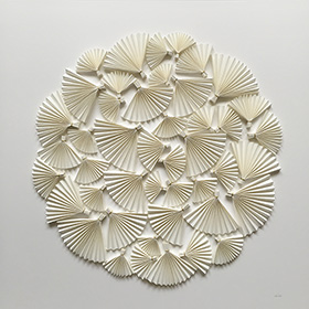 Oak leaves - affordable paper art designed by Cissy Cook