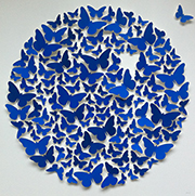 Paper butterflies - affordable paper art designed by Cissy Cook