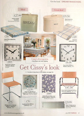 Ideal Home Magazine July 2009